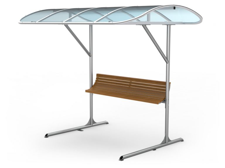 rack with shelter