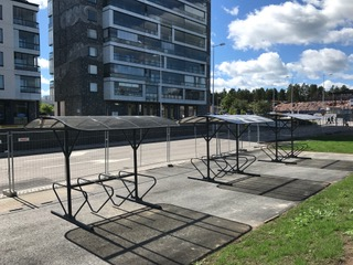 Cycle parking rack